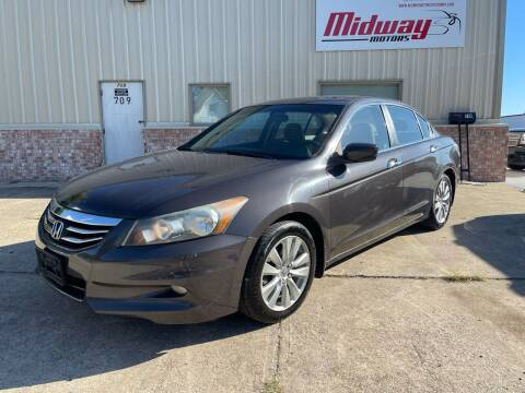 2012 Honda Accord for sale at Midway Motors in Conway AR