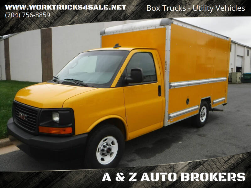 2017 GMC Savana Cutaway for sale at A & Z AUTO BROKERS in Charlotte NC