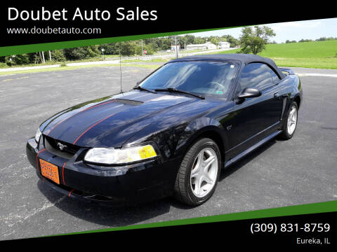 2000 Ford Mustang for sale at Doubet Auto Sales in Eureka IL
