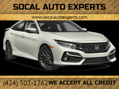 2020 Honda Civic for sale at SoCal Auto Experts in Culver City CA