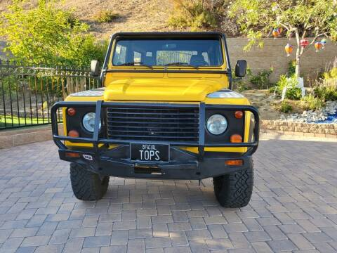 1995 Land Rover Defender for sale at Best Quality Auto Sales in Sun Valley CA