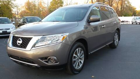 2013 Nissan Pathfinder for sale at JBR Auto Sales in Albany NY