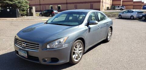 2010 Nissan Maxima for sale at Fleet Automotive LLC in Maplewood MN