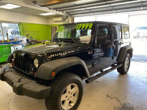 2009 Jeep Wrangler Unlimited for sale at Ginters Auto Sales in Camp Hill PA