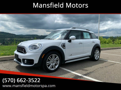 2018 MINI Countryman for sale at Mansfield Motors in Mansfield PA