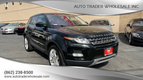 2014 Land Rover Range Rover Evoque for sale at Auto Trader Wholesale Inc in Saddle Brook NJ