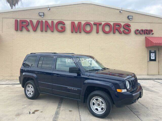 2015 Jeep Patriot for sale at Irving Motors Corp in San Antonio TX