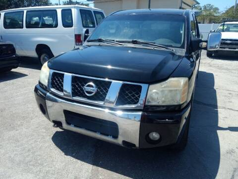 2006 Nissan Titan for sale at Autos by Tom in Largo FL
