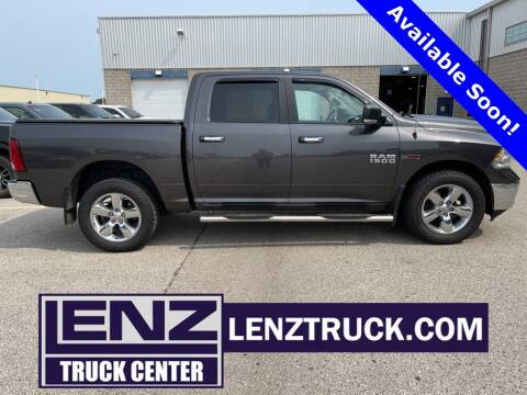 2015 RAM Ram Pickup 1500 for sale at LENZ TRUCK CENTER in Fond Du Lac WI