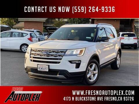 2018 Ford Explorer for sale at Fresno Autoplex in Fresno CA