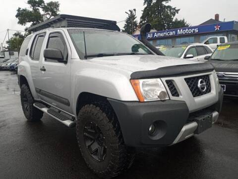 2012 Nissan Xterra for sale at All American Motors in Tacoma WA