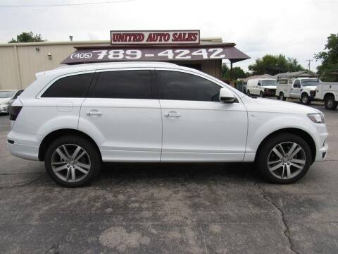 2013 Audi Q7 for sale at United Auto Sales in Oklahoma City OK