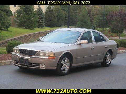 2000 Lincoln LS for sale at Absolute Auto Solutions in Hamilton NJ