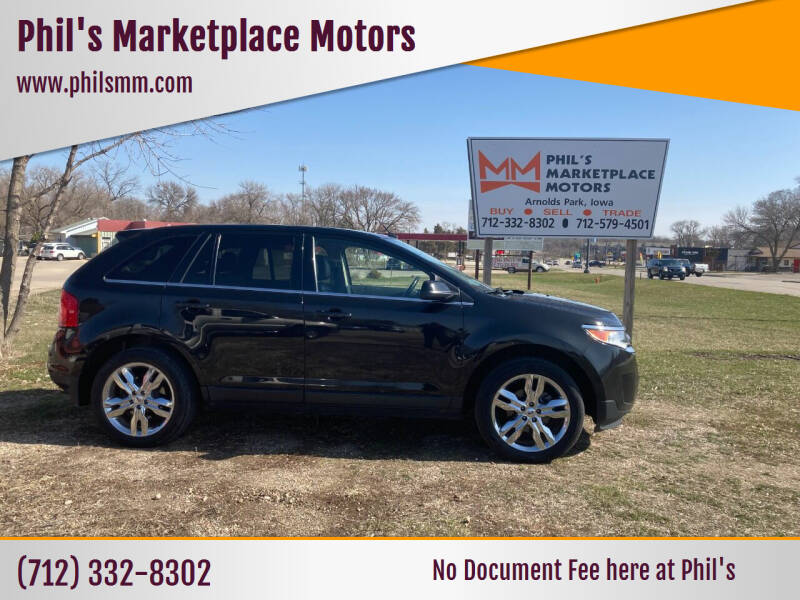 2012 Ford Edge for sale at Phil's Marketplace Motors in Arnolds Park IA