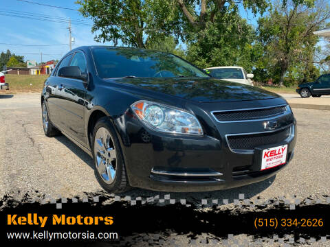 2010 Chevrolet Malibu for sale at Kelly Motors in Johnston IA