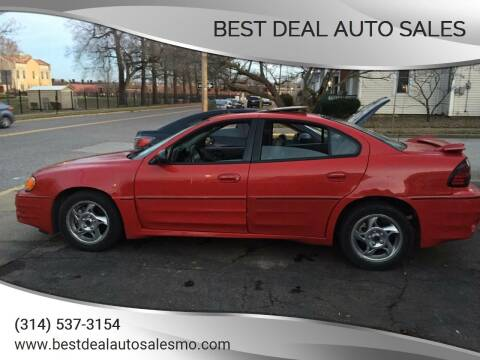2004 Pontiac Grand Am for sale at Best Deal Auto Sales in Saint Charles MO