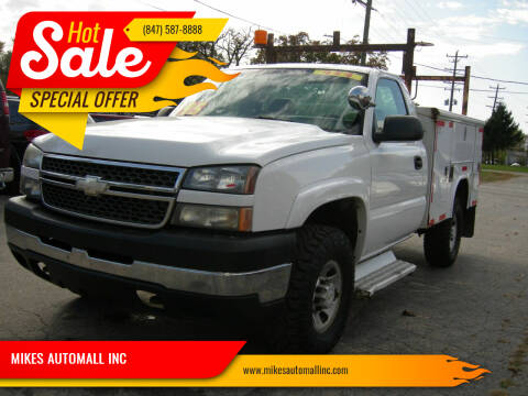 2006 Chevrolet Silverado 3500 for sale at MIKES AUTOMALL INC in Ingleside IL