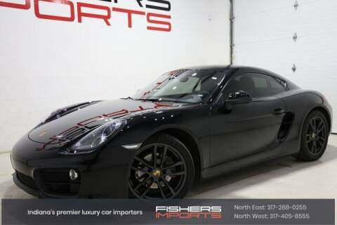 2016 Porsche Cayman for sale at Fishers Imports in Fishers IN
