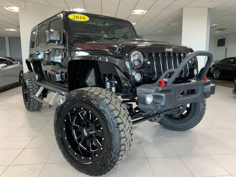 2016 Jeep Wrangler Unlimited for sale at Auto Mall of Springfield in Springfield IL