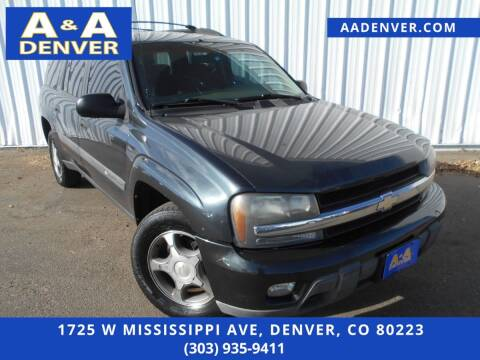 2004 Chevrolet TrailBlazer EXT for sale at A & A AUTO LLC in Denver CO