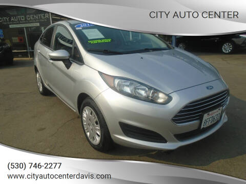 2015 Ford Fiesta for sale at City Auto Center in Davis CA