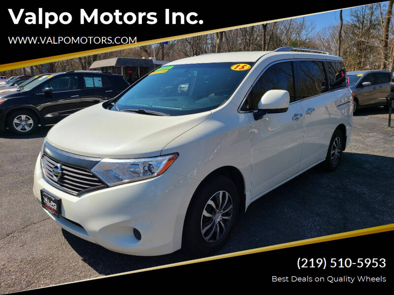 2015 Nissan Quest for sale at Valpo Motors Inc. in Valparaiso IN
