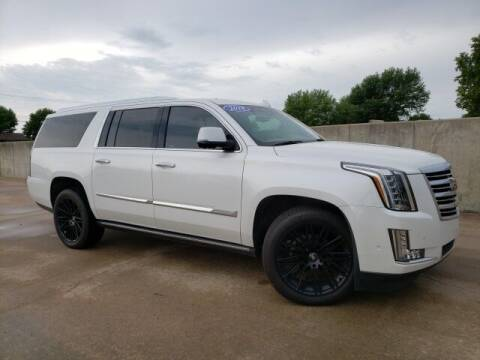 2018 Cadillac Escalade ESV for sale at BOB HART CHEVROLET in Vinita OK