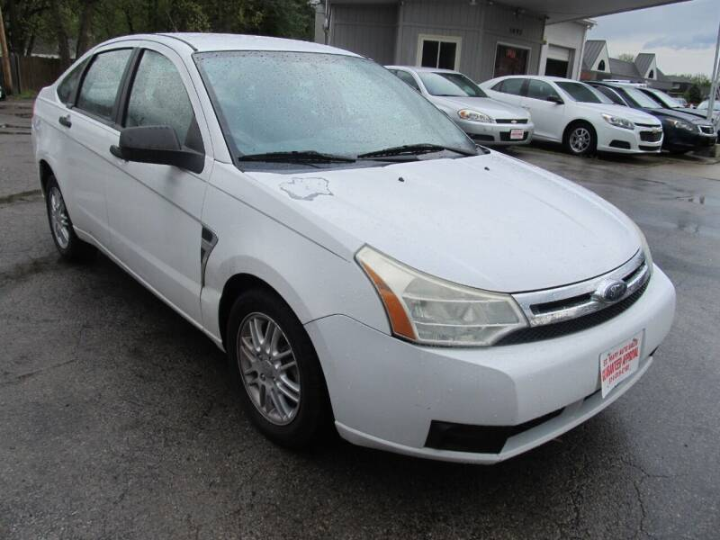 2008 Ford Focus for sale at St. Mary Auto Sales in Hilliard OH