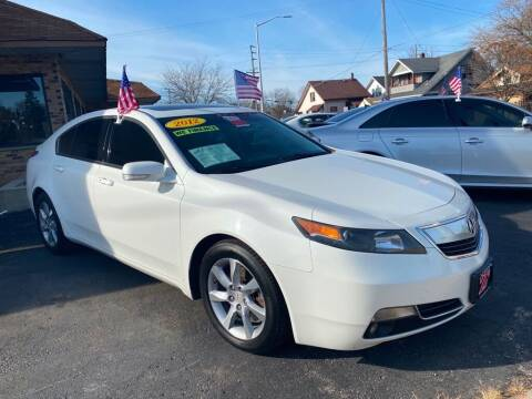 2012 Acura TL for sale at Zs Auto Sales in Kenosha WI
