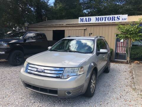 2008 Ford Taurus X for sale at Mad Motors LLC in Gainesville GA