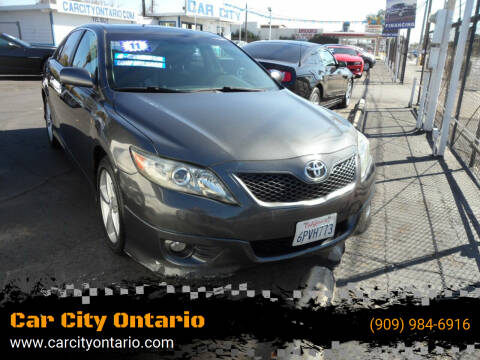 2011 Toyota Camry for sale at Car City Ontario in Ontario CA