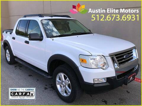 2007 Ford Explorer Sport Trac for sale at Austin Elite Motors in Austin TX