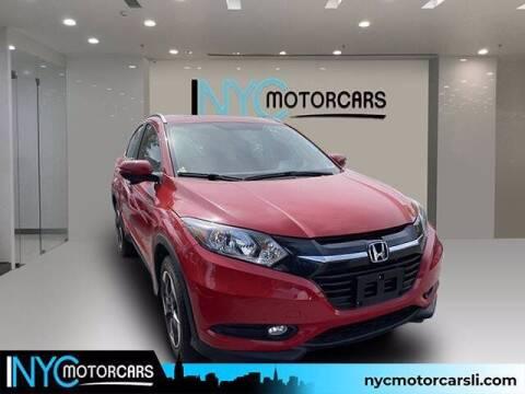 2018 Honda HR-V for sale at NYC Motorcars in Freeport NY