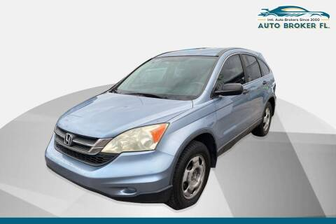 2010 Honda CR-V for sale at INTERNATIONAL AUTO BROKERS INC in Hollywood FL