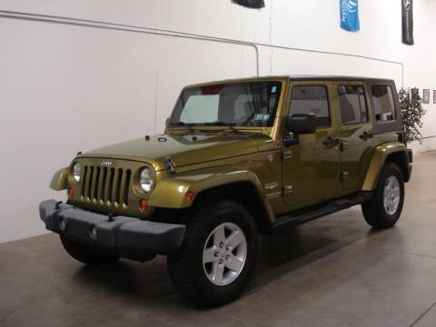 2007 Jeep Wrangler Unlimited for sale at DRIVE INVESTMENT GROUP in Frederick MD