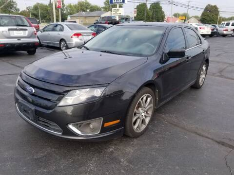 2010 Ford Fusion for sale at Larry Schaaf Auto Sales in Saint Marys OH
