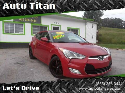 2013 Hyundai Veloster for sale at Auto Titan in Knoxville TN