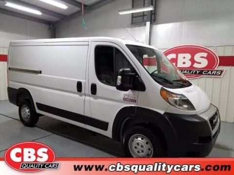 2020 RAM ProMaster Cargo for sale at CBS Quality Cars in Durham NC