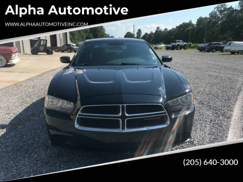 2012 Dodge Charger for sale at Alpha Automotive in Odenville AL