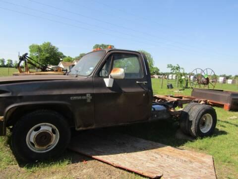 1986 Chevrolet C/K 30 Series for sale at Hill Top Sales in Brenham TX