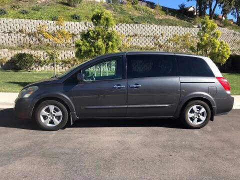 2007 Nissan Quest for sale at CALIFORNIA AUTO GROUP in San Diego CA