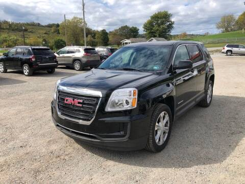 2017 GMC Terrain for sale at G & H Automotive in Mount Pleasant PA