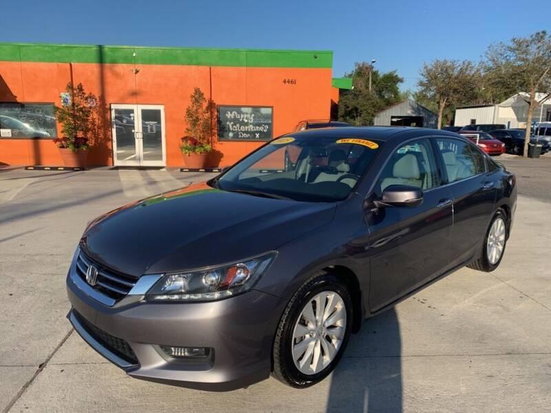 2015 Honda Accord for sale at Galaxy Auto Service, Inc. in Orlando FL
