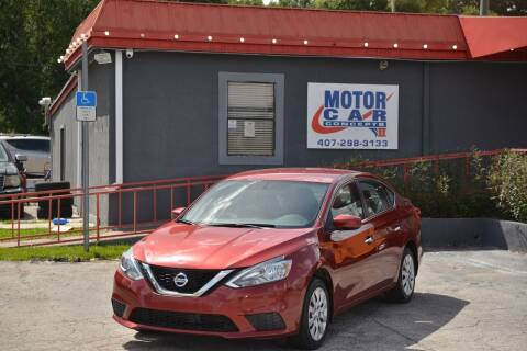 2016 Nissan Sentra for sale at Motor Car Concepts II - Kirkman Location in Orlando FL