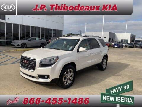 2015 GMC Acadia for sale at J P Thibodeaux Used Cars in New Iberia LA