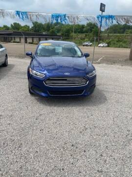 2015 Ford Fusion for sale at Wallers Auto Sales LLC in Dover OH