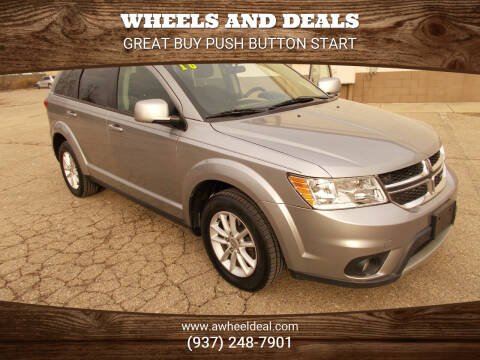 2016 Dodge Journey for sale at Wheels and Deals in New Lebanon OH