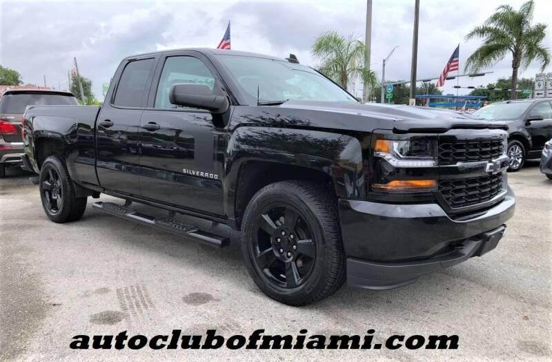 2018 Chevrolet Silverado 1500 for sale at AUTO CLUB OF MIAMI, INC in Miami FL