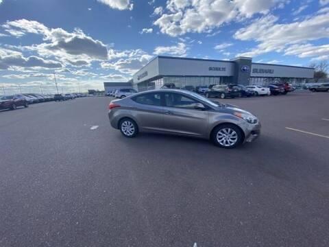 2012 Hyundai Elantra for sale at Schulte Subaru in Sioux Falls SD