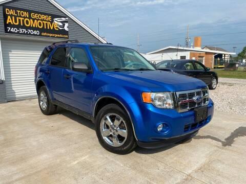 2011 Ford Escape for sale at Dalton George Automotive in Marietta OH